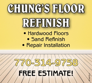 Hardwood Floors, Sand Refinish, Repair Installation
